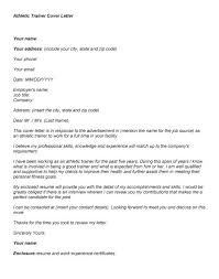 Athletic Trainer Cover Letter Best Of Personal Trainer Resume
