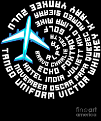 Pirate way or pilot way? Phonetic Alphabet Airplane Pilot Flying Aviation Digital Art By The Perfect Presents