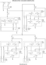 1997 honda civic wiring diagram inspiriraj me 97 civic radio wiring diagram 97 civic power window wiring diagram wire beautiful 1997 honda