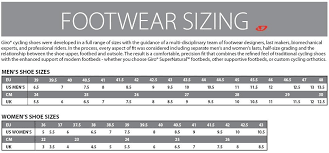 Specialized Clothing Size Chart Sidi Mtb Size Chart Bedowntowndaytona Com