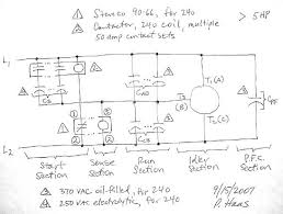 rotary phase converter designs and plans page 3 3 Phase Rotary Converter Wiring Diagram for > 5 hp three phase rotary converter wiring diagram