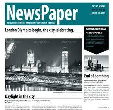 Newspaper Template Indesign Newspaper Ad Template Indesign Altpaper Co