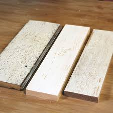 three boards for whitewash wood white wash wood