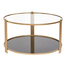 contemporary sydney round coffee table