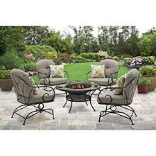 better homes and gardens fire pit. Unique And Better Homes And Gardens Myrtle Creek 5Piece Fire Pit Chat Set Throughout And A