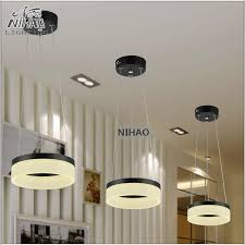 office lightings. Aliexpress.com : Buy Chandeliers LED Round Ring Light Fixture 8 Inch Small Modern Office Lightings Dinning Room Hanging Lamp Color Options MD5060 From