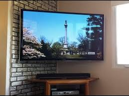 corner wall mounted tv on mount it lcd led articulating corner wall mount with corner wall mounted tv youtube