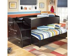 embrace loft bed with caster and left steps. embrace apk-b239-lb twin loft bed with caster and left storage steps by signature design ashley