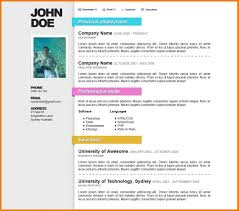 nice resume templates assistant cover letter 6 nice resume templates