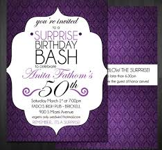 Black And Purple Invitations 14 Surprise Birthday Invitations Free Psd Vector Eps Ai