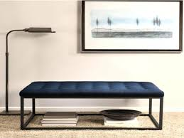 navy blue bench. Coffee Tables : Navy Ottoman Tufted Table Blue Bench With A