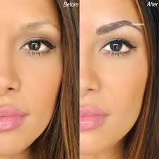 say goodbye to your boring old brow pencils with semi permanent makeup you can have perfectly shaped and filled eyebrows everyday for the next 3 4 years