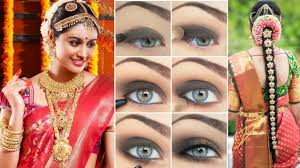 indian bridal makeup hairstyle saree d step by step how to do indian bridal makeup yourself beauty beauty