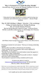College Essay Writing Workshop College Scholarship Essay Writing Workshop