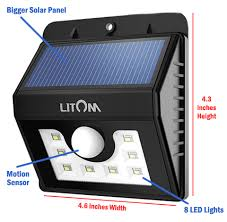 Lighting  Motion Flood Lights Reviews Motion Flood Lights Stay On Solar Security Light With Motion Sensor Review