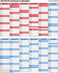 Free Printable School Calendar Microsoft Word Calendar Template School Year School Calendar