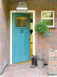 painting front doorNice Front Door Painting View In Gallery Bright Blue Painted Front
