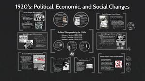 Issues Of The 1920s Cause Effect Chart 1920s Political Economic And Social Changes By Jade