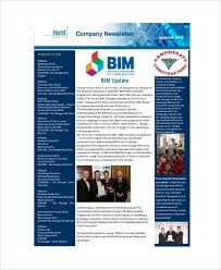 Examples Of Company Newsletters Internal Company Newsletter Examples Sample Company