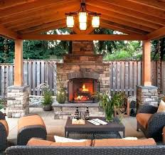 outdoor covered patio ideas awesome backyard best patios lighting photos