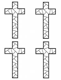 Printable Coloring Pages coloring pages of the cross : Coloring: Cross Coloring Sheet