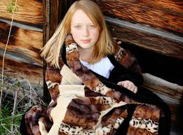201 best CuddleSoftKits images on Pinterest | Cuddle, Minky ... & Girl with Adult Fancy Leopard Strip Quilt Kit Adamdwight.com