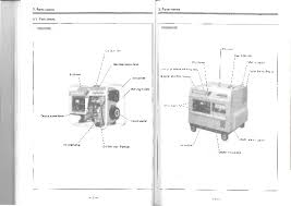 yanmar diesel generator operation manual 8 2 parts