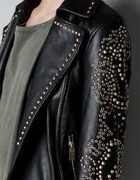 stud leather jacket zara cairoamani com
