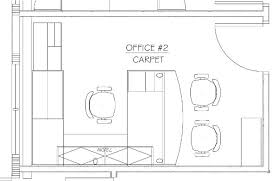 front office layout. Office 2 Potential Furniture Layout Front E
