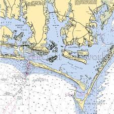 Beaufort Tide Chart North Carolina Beaufort To Cape Lookout Nautical Chart