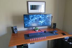 simple sit stand battlestation