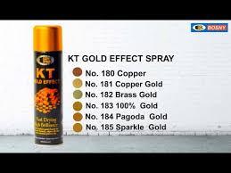 Nikko Spray Paint Color Chart Bosny Ph Kt Gold Effekt Spray Paint