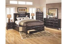 Kira Queen Storage Bed   Ashley Furniture HomeStore