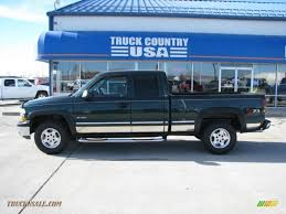 2002 Chevrolet Silverado 1500 LS Extended Cab 4x4 in Forest Green ...