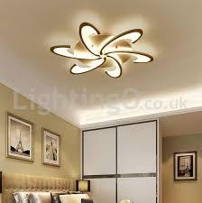 6 bulbs modern flush mount ceiling lights living room dining room bedroom