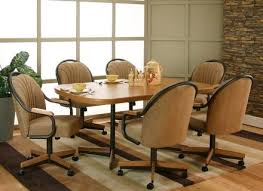 dining room stunning dining room set with swivel chairs swivel tilt