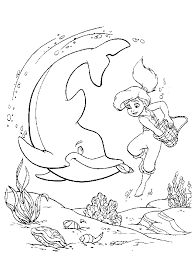 Small Picture Astonishing Little Mermaid Coloring Pages 2 0014gif 15155 Byte