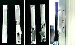 pella sliding door repair glass lock replacement window