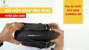 MỞ HỘP FLYCAM HUBSAN ZINO PRO PLUS | Phiên bản nâng cấp hoàn toàn mới và  nhiều cải tiến nổi trội - YouTube