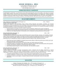 Sample Hr Resumes Samples Hr Resume Regarding Keyword Sample With