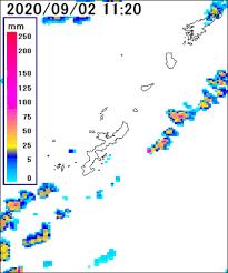 天気 予報 沖縄 雨雲 レーダー