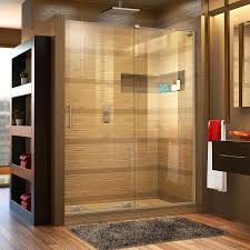 bathroom remarkable shower glass doors dreamline mirage frameless sliding shower door l shape right wall bracket