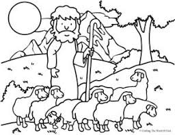 Small Picture The Good Shepherd The Lost Sheep Coloring Page Crafting The