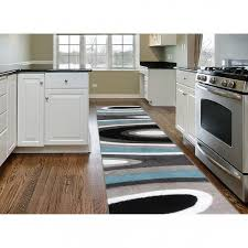 black and white kitchen rug fantastic black white grey and blue geometric runner rug 2 x 7 2