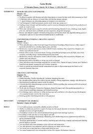Copywriter Resume Samples Creative Copywriter Resume Samples Velvet Jobs 2