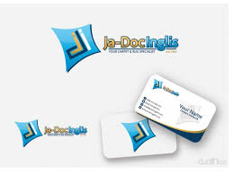 carpet company logo. logo \u0026 card design for carpet rug cleaning company g