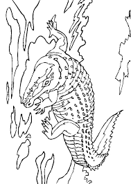 Small Picture Crocodile Coloring Pages Coloringpages1001com
