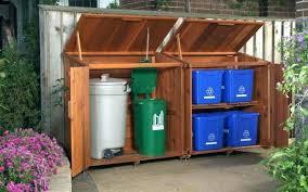 trash can storage containers storage enclosure outdoor storage can trash can storage rubbermaid trash storage bins