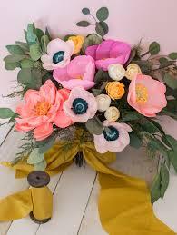 Paper Flower Bouquet Tutorial Paper Flower Bouquet Tutorial Magdalene Project Org