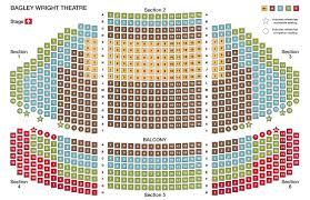 Proper Seattle Repertory Theatre Seating Chart Dolby Theater